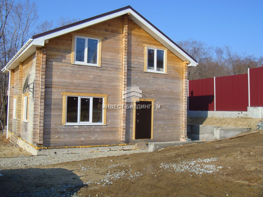 Дом во Владивостоке: строительство Инвест Билдинг Владивосток