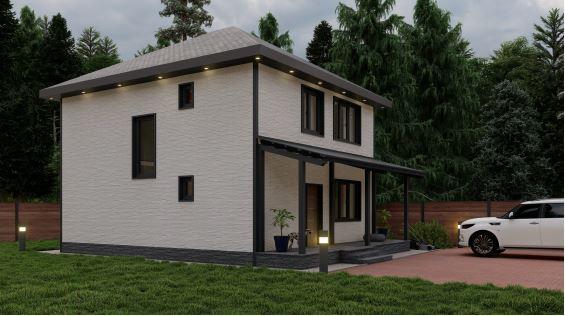 каркасный дом в пригороде владивосток солнечный 2