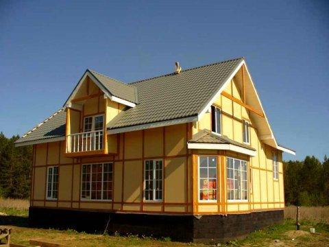 Каркасные дома во Владивостоке от Инвест Билдинг-М Владивосток