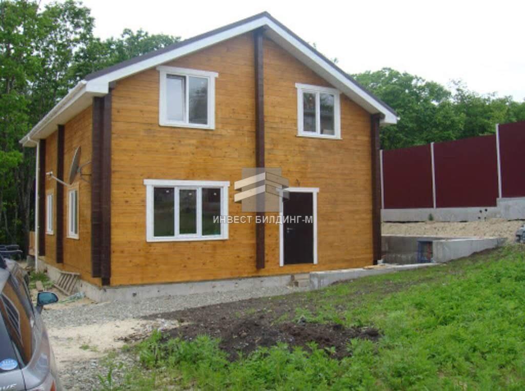 дачный дом из бруса во владивостоке: дача из бруса