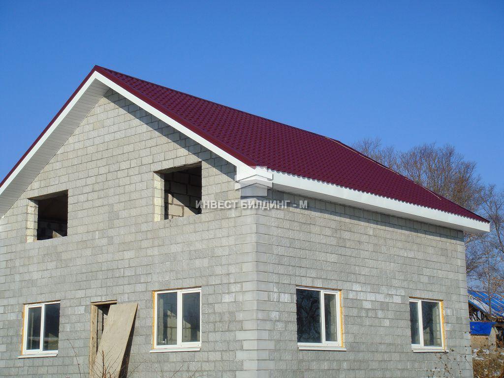 строительство дач, дачного домика во Владивостоке из пеноблоков