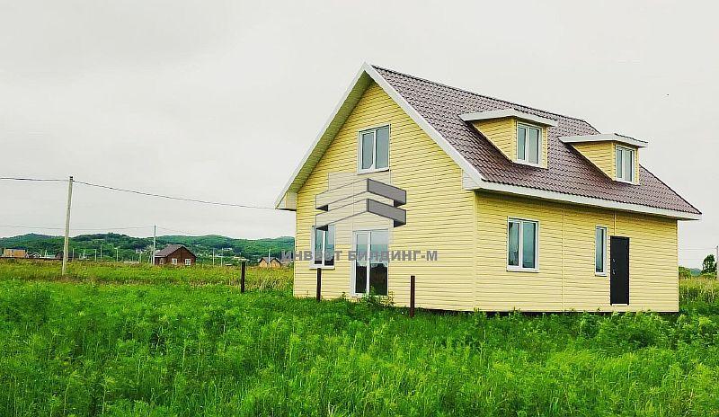 каркасный дачный дом во Владивостоке: строительство дачных домов