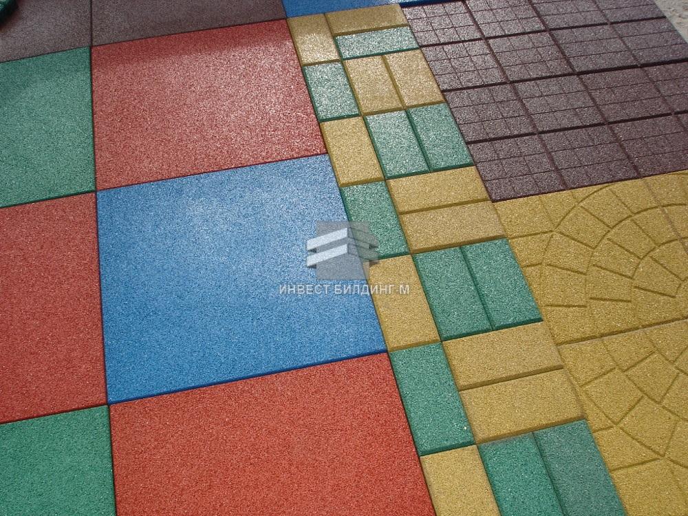 резиновая тротуарная плитка во Владивостоке