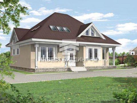 Дом из пенаблока 350 кв м